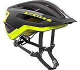 SCOTT Helm Fuga Plus Rev Blck/yeow RC L Unisex Erwachsene