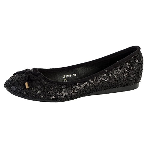 Ballerine The Divine Factory Tdf2126 Noir