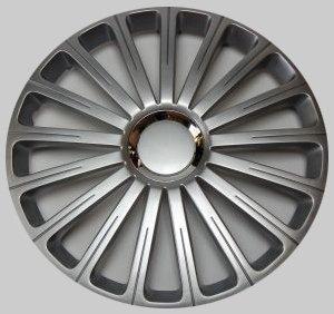 Radkappen Radzierblenden Radabdeckungen Radical Pro silber silver 16