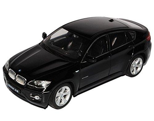 bmw-x6-e71-suv-schwarz-2008-2014-1-24-welly-modell-auto-mit-individiuellem-wunschkennzeichen
