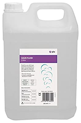 qtx AV-160.596UK Haze Fluid, 5 Litre