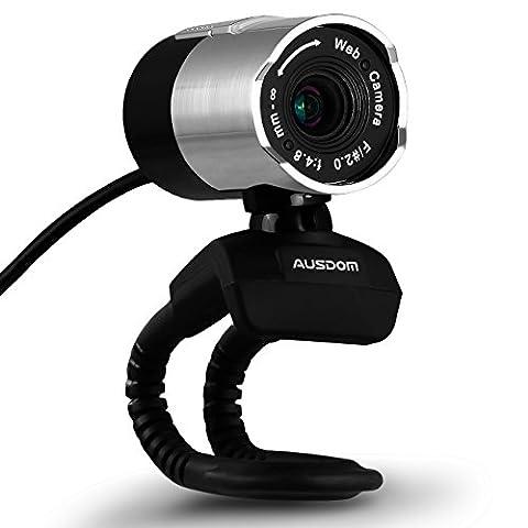 Ausdom Webcam AW335 Full HD 1080P Netzwerk-Videokamera für Computer-Cams
