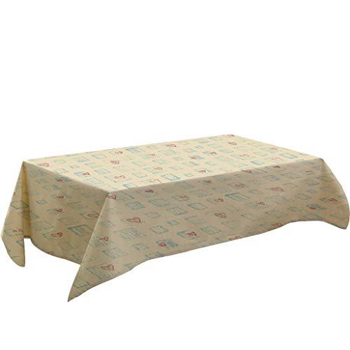 Nncande Einfach Tischdecke Tischläufer Tischtuch Tischwäsche Tafeltuch Couchtisch Esstisch Tischdecke - Küche - Hauptdekoration Teppich Picknickdecke Staubtuch Tuch Tischdekoration