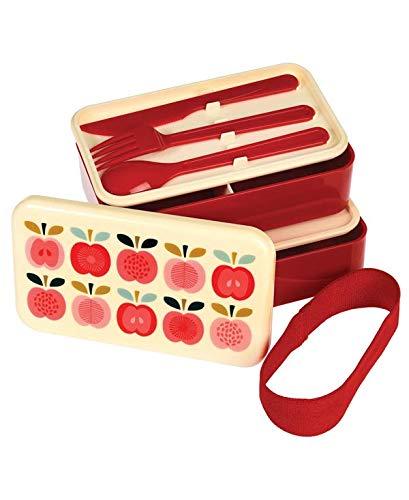Bento Box, Lunch Box - Vintage Apple - Large Bento-box