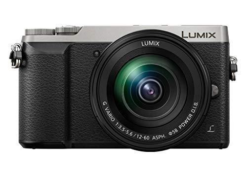 Panasonic Lumix Appareil Photo Hybride Compact DMC-GX80MEFS + Objectif LUMIX 12-60mm F3.5-5.6 (Capteur 4/3 16MP, Double Stab, Viseur, Écran inclin. tact, AF DFD, Vidéo 4K) Noir - Version Française