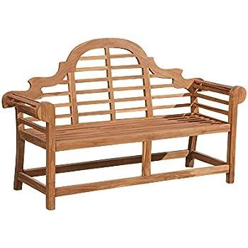 teak friesenbank parkbank gartenbank holz landhaus bank holzbank garten sitzbank. Black Bedroom Furniture Sets. Home Design Ideas