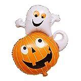 Hemore Deko-Ballon Halloween Balloons Ghost Pumpkin 1 Stück für Dekoration für Hochzeit/Geburtstag/Party/Abend/Weihnachten