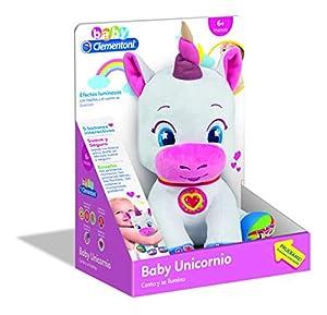 Clementoni - Baby Unicornio Muñeca,