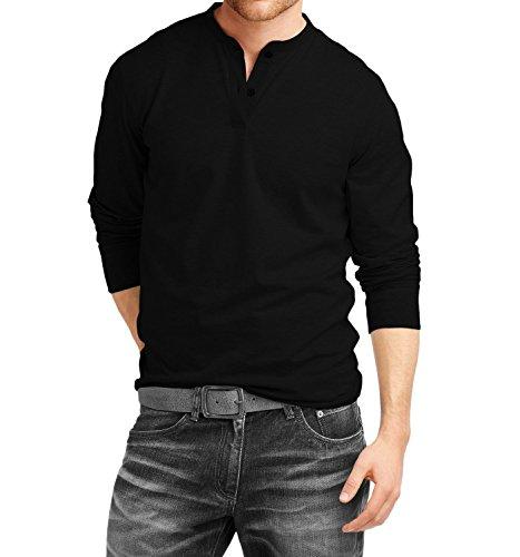76% OFF on Fanideaz Men's Cotton Henley Full sleeve T Shirts for ...