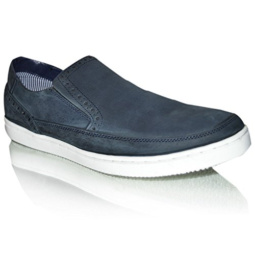 Xelay - Brogue uomo Navy blue