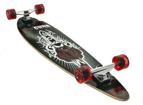 Curb Unisex Kinder Skateboard-Dolch-Design, Schwarz Preisvergleich