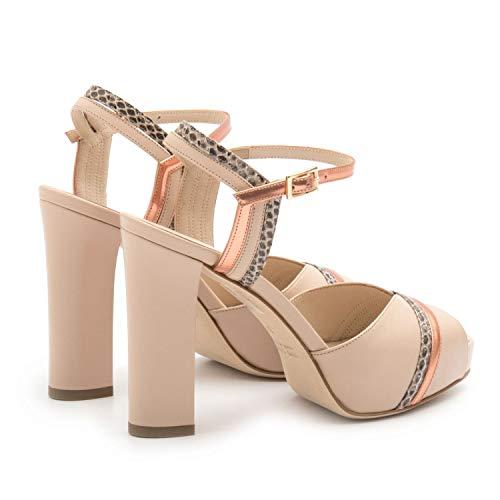 0dcfb9c794b069 Zoom IMG-2 lella baldi sandali cipria con