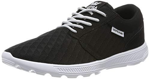 Supra Unisex-Erwachsene Hammer Run Sneaker, Schwarz (Black Emboss-White 007), 40 EU (Supra)
