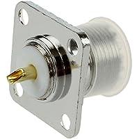 SODIAL(R) Conector RF de UHF Hembra SO239 Panel Chasis Base