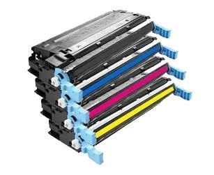 4er SET Laser Eurotone Toner Cartridge pour HP Color LaserJet