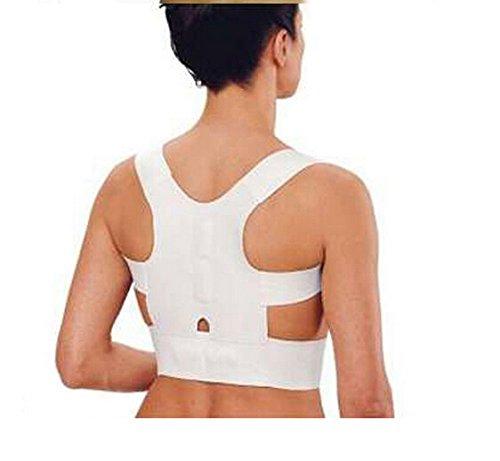 ewinever(TM) 1pcs terapia magnética postura de la espalda Corrector hombro ayuda del hombro de la correa Brace (XL)