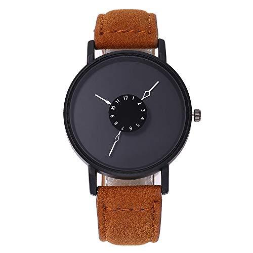 gaddrt Uhren, vansvar Frauen Casual Quartz Lederband New Strap Watch Analog Armbanduhr (C)