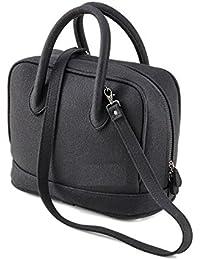 69d91b0bd39ef Tasche Filztasche Shopper Handtasche LILI Farbe hell grau meliert 100%  Merino Filz Innenfutter