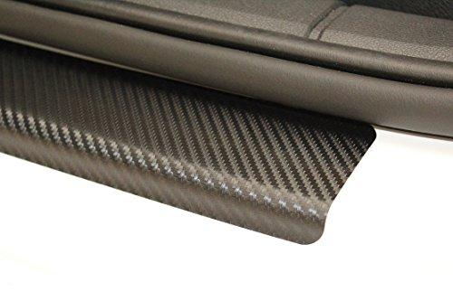 Preisvergleich Produktbild Einstiegsleisten Lackschutzfolie Schutzfolie 3D CARBON Folie Türeinstiege Einstiege 2054
