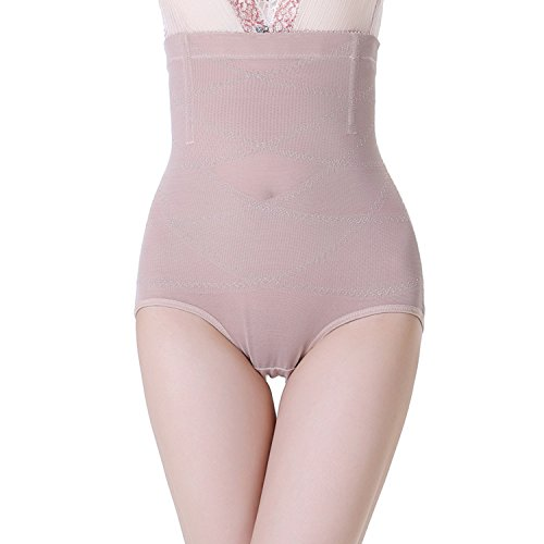 Dreamworldeu Damen Re-Shaping Slimming Nach Geburt Bauchweg Body Shaper Beige