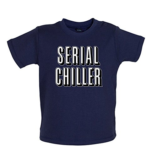Kostüm Kleinkind Dead Walking Für - Serial Chiller - Baby T-Shirt - Marineblau - 3 bis 6 Monate
