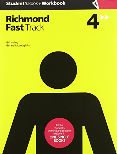 FAST TRACK 4 STUDENT'S + WORKBOOK - 9788466820080 por Gillian Mary Holley
