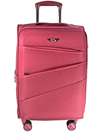 Texas USA - Exclusive Range Of Imported Soft Luggage Trolley - 24 Inch - Medium Size - Check-in Baggage