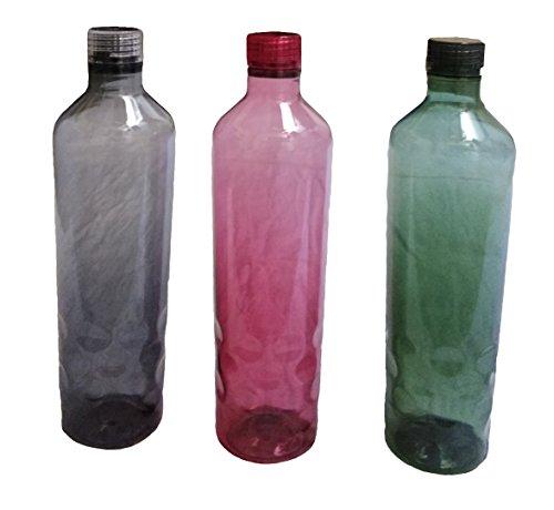 Nayasa Superplast Hammer Plastic Water Bottle Set, 1 Litre, Set...