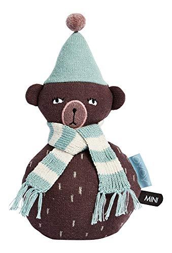 OYOY - Kugelspielzeug Roly Poly - Teddy Bär - Ø 12 x H 22 cm - Baumwolle (Teddys Bären)