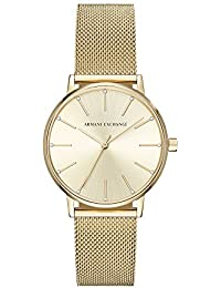 Armani Exchange Lola Analog Gold Dial Women's Watch - AX5536