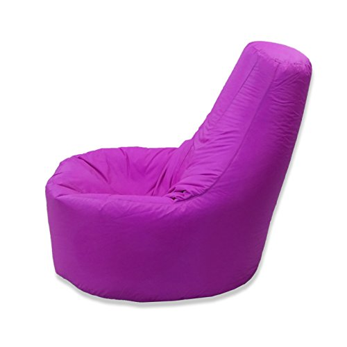 Large Bean Bag Gamer Chair Recliner Outdoor And Indoor Adult Gaming Beanbag Seat Chair Water And Weather Resistant…