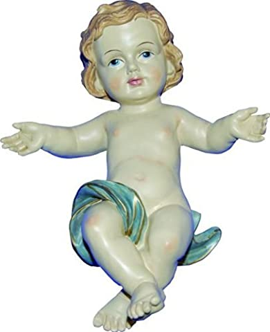 Saint figure, Jésus, hauteur 15cm, coloriée à la main