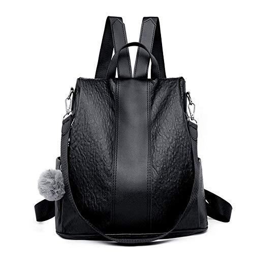 Fashion Anti-Diebstahl-Umhängetasche Weiblich New Fashion Europa und Amerika Ladies Personality Bag Tide Street Backpack (Lady Von Amerika)