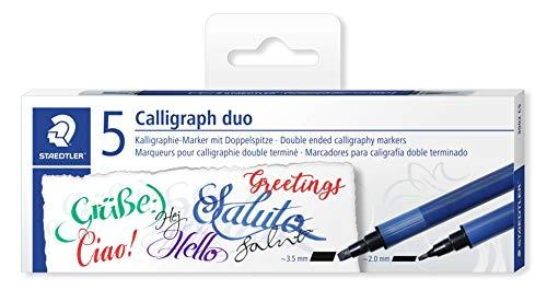 Staedtler Kalligraphie Doppelmarker mit 2 Spitzen
