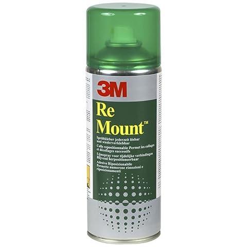 3M remount Adhesive Repositionierbarer Spray 400ml Kann Ref GS200018983