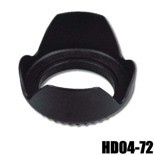 DynaSun Pro Gegenlichtblende HD 72mm Weitwinkel Tulpen für Objektive mit Gewinde (Gegenlichtblende Tulpe 72mm)