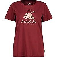 Maloja Turettam. Camiseta, Mujer, Red Monk, M