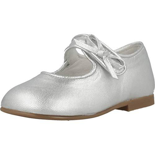 Landos Zapatos Ceremonia Ninas 30AC182 para Niñas Plateado 23 EU