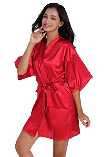 Elwow -  Accappatoio  - Donna Red