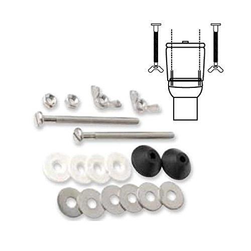 Wolfpack 4100144 Schraubenset zur Montage von Toiletten-Spülkasten T-291