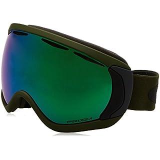 Oakley Canopy Skibrille Army Green Iron/prizm Jade Iridium One Size