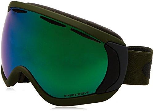 Oakley Canopy Skibrille, Army Green Iron/prizm Jade Iridium, One Size