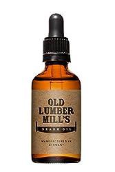 Old Lumber Mill's Premium Bartöl 50ml | Für die tägliche Bartpflege | 100% veganes Produkt | Für einen weichen und gepflegten Bart | Manufactured in Germany