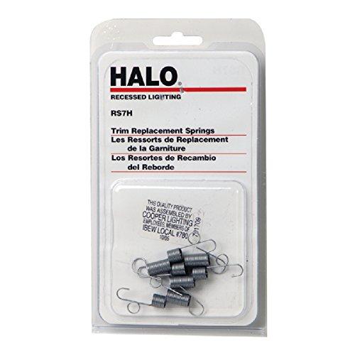 Halo rs7h, Ersatz Coil Springs für Verwendung mit Radzierblenden, Blister von 4 - Cooper Beleuchtung Einbauleuchten