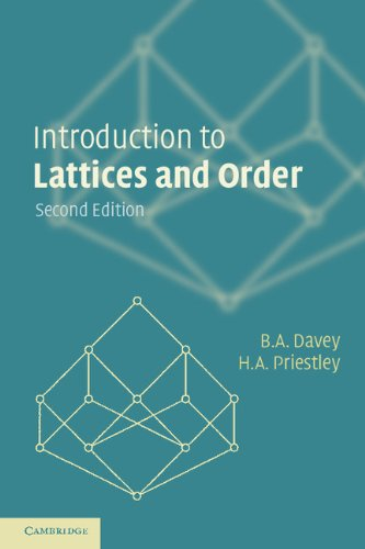 Introduction to Lattices and Order por B. A. Davey