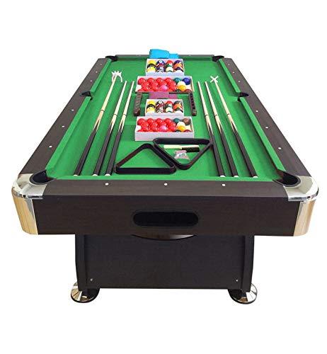 Giordanoshop tavolo da biliardo professionale panno verde 220x110 cm lanzoni 8 piedi