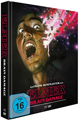 Elmer - Brain Damage (Mediabook + 2 DVDs) [Blu-ray]