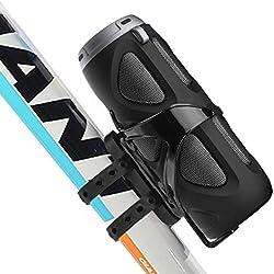 Avantree Enceinte vélo Bluetooth 10W avec Support vélo, Usage Portable en extérieur, Sport, Camping, Compatible Lecture Carte Micro SD, NFC - Cyclone
