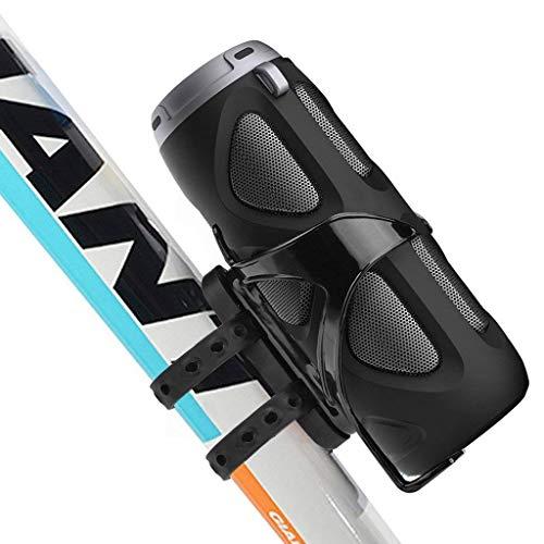Avantree Enceinte vélo Bluetooth 10W avec Support vélo, Usage Portable en extérieur, Sport, Camping, Compatible Lecture Carte Micro SD, NFC - Cyclone [Garantie 2 Ans]