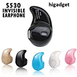 #8: higadgetTM-Wireless Bluetooth Headphone S530 1pcs In-Ear V4.0 Stealth Earphone Phone Headset Handfree Universal supports apple samsung micromax lenovo gionee asus motorolla and all bluetooth suported smartphone devices assorted colors